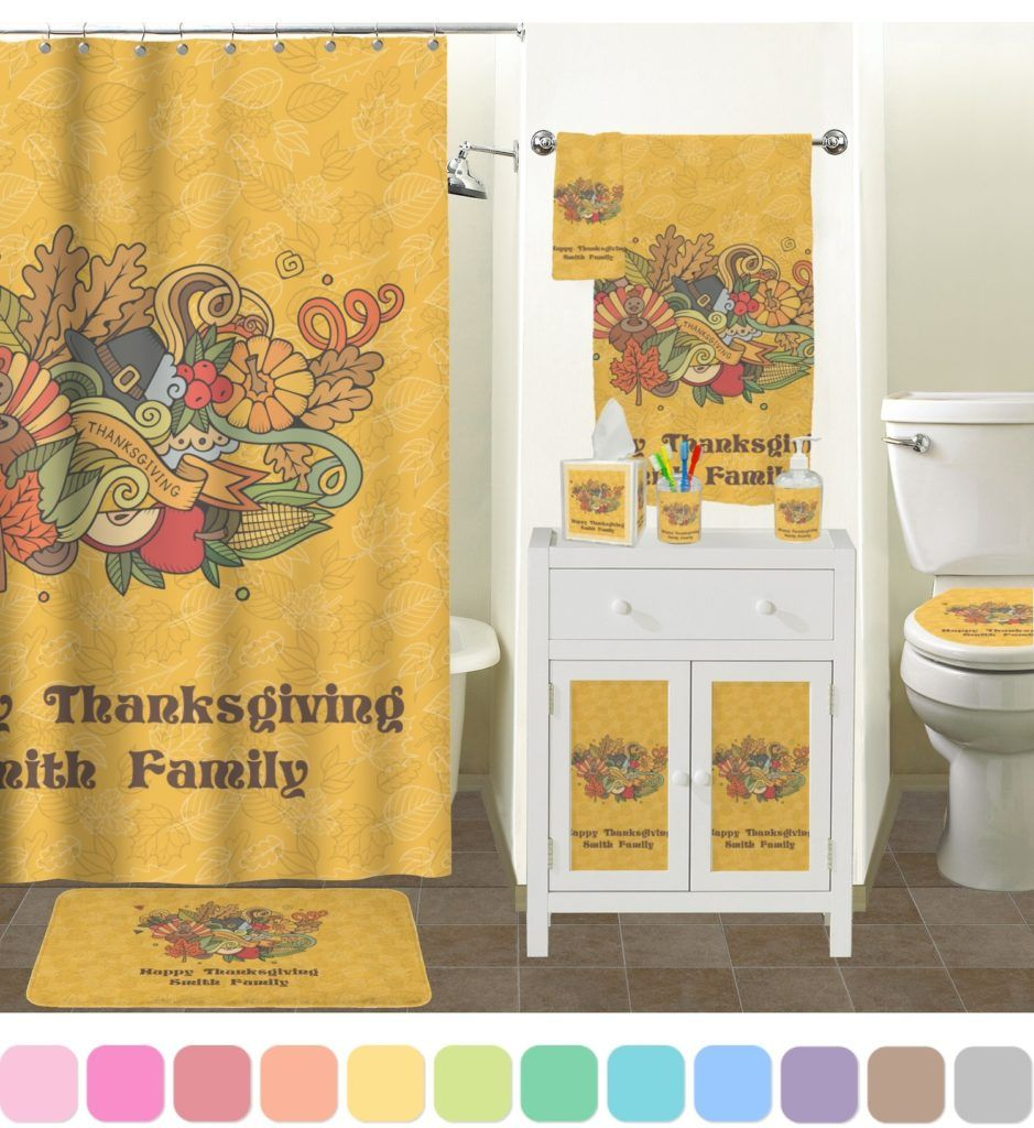Thanksgiving bath towels bathroom utensils pinterest towels