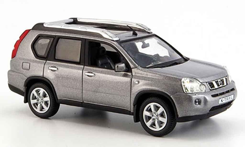 Nissan X Trail Gray 2007 Norev Miniature