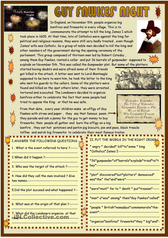 Guy Fawkes night :reading | Festivals, celebrations and holidays ...