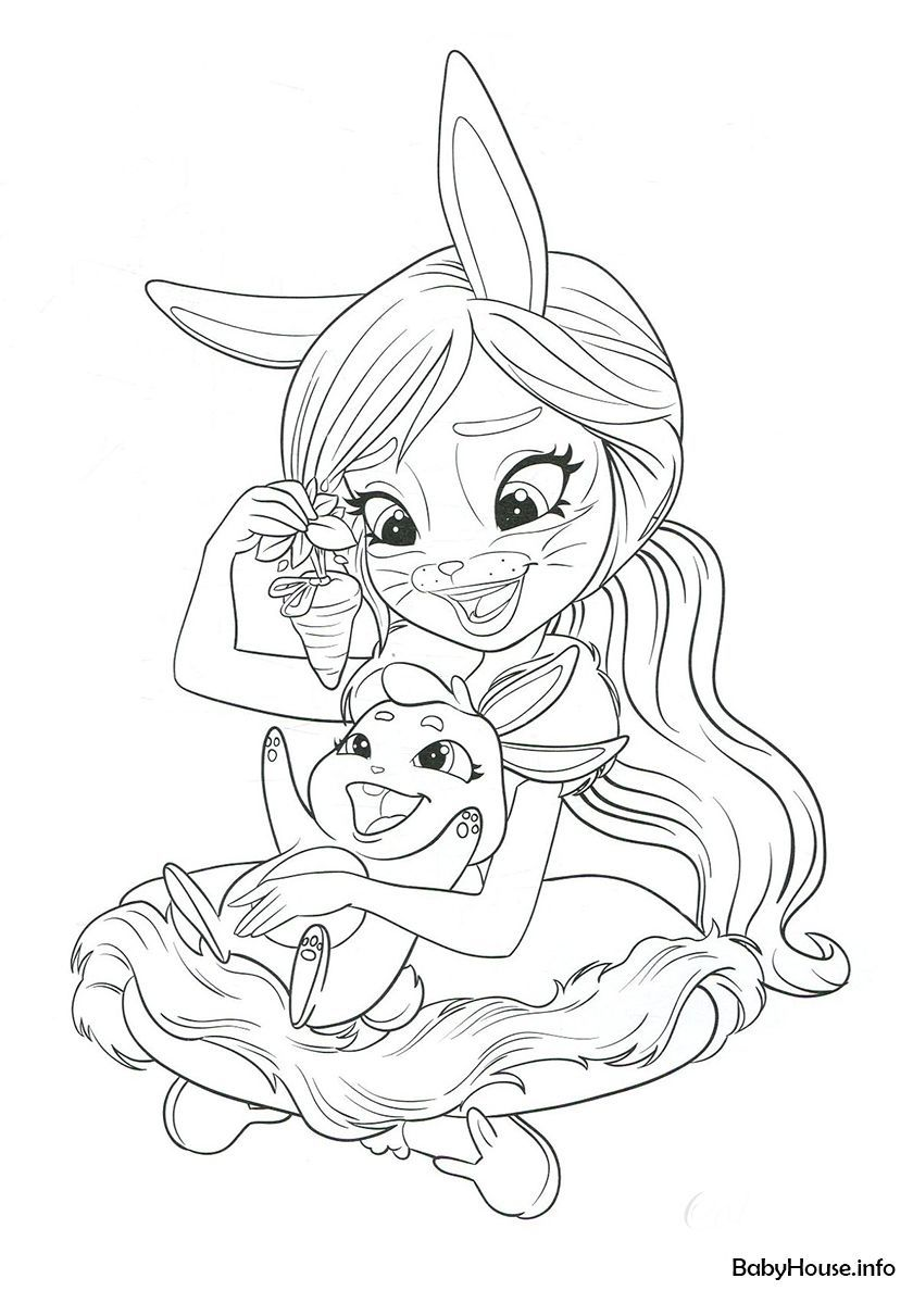 Enchantimals Coloring Pages Ready To Download In 2020 Cute Coloring Pages Deer Coloring Pages Ladybug Coloring Page