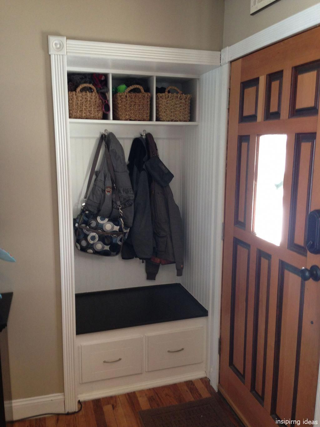 Lockers Keep Your Gym Tidy  Entry closet, Closet remodel, Front