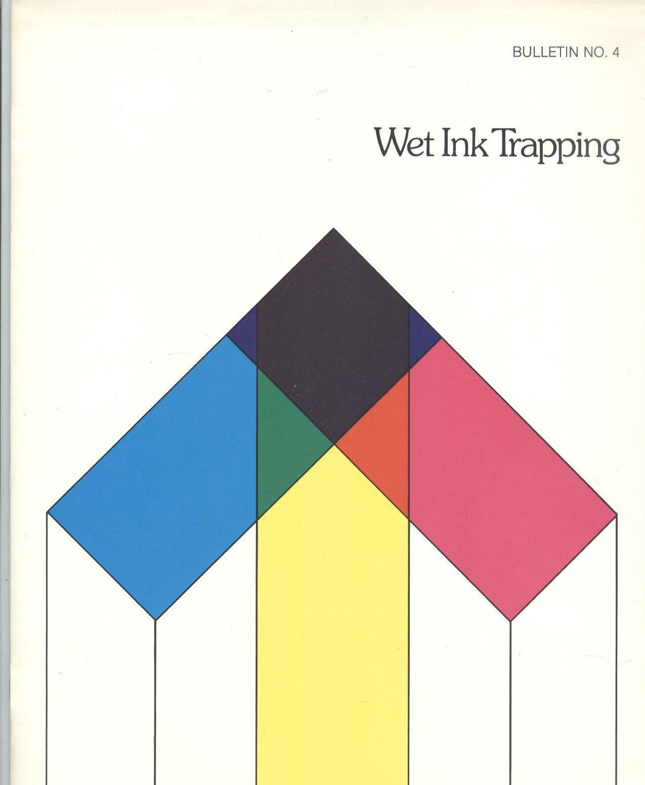 1980 Warren Printing Paper Company Book On Wet Ink Trapping Offset Diagram Press Print Commercial And Design Layouts