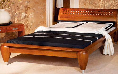 Wooden Bed Headboards Designs wooden bed designs with unique headboards - http://www.homenhome