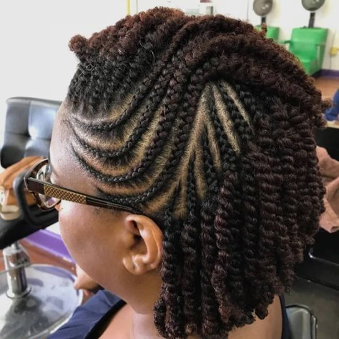 Crazy Hairstyles For African Americans Natural Hair Twists
