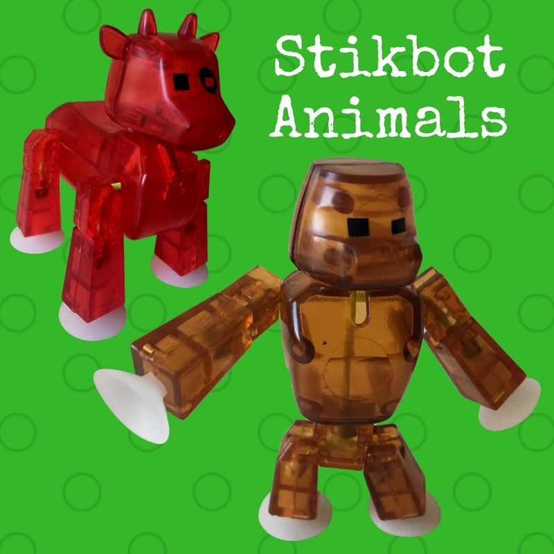 Animals Toys For Boys : Stikbot animals for stop animation movies year old