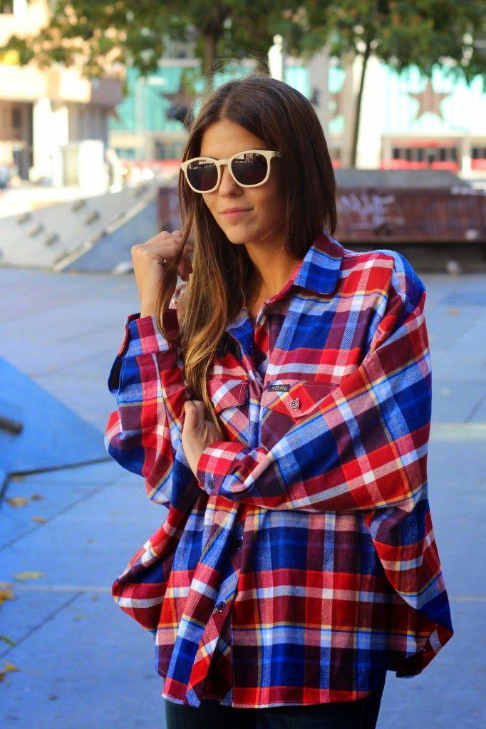 PLAID SHIRT and how to wear it this season:  http://www.clubfashionista.com/2014/12/plaid-shirts.html  #plaid #clubfashionista #fashion #style