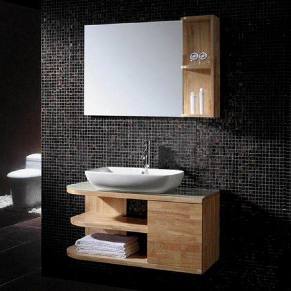 Wood Feature Wallideas: Vanity, Wood Vanity, Bathroom Decor
