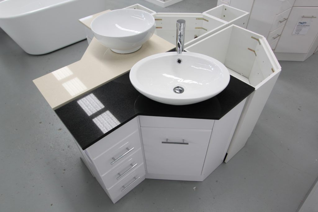Corner Bathroom Vanity Bunnings | Small bathroom cupboard ...