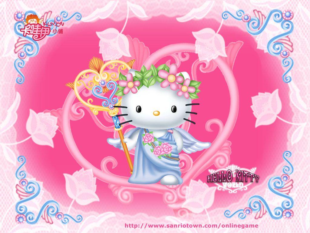 Hello Kitty - Quero Colorir