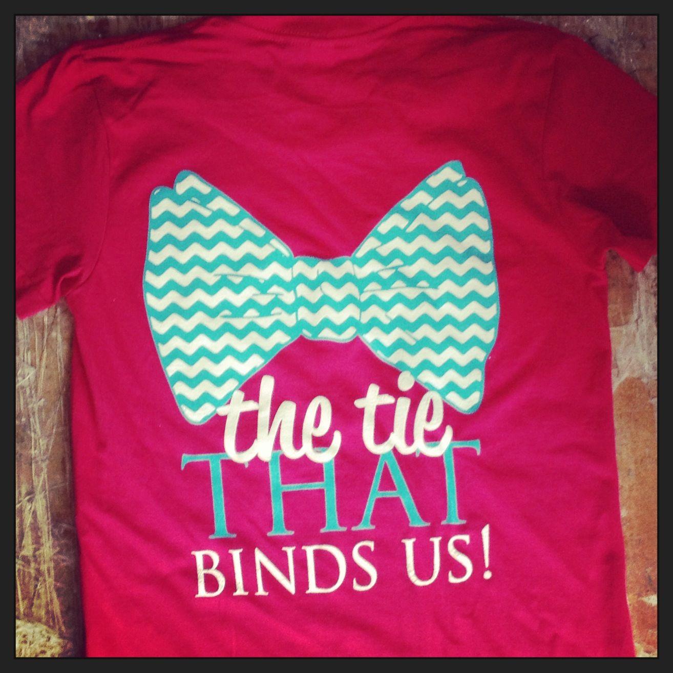 #thetiethatbinds #panhellenic #recruitment #bow #tshirt #sororitylife #greek101 #Greeklife