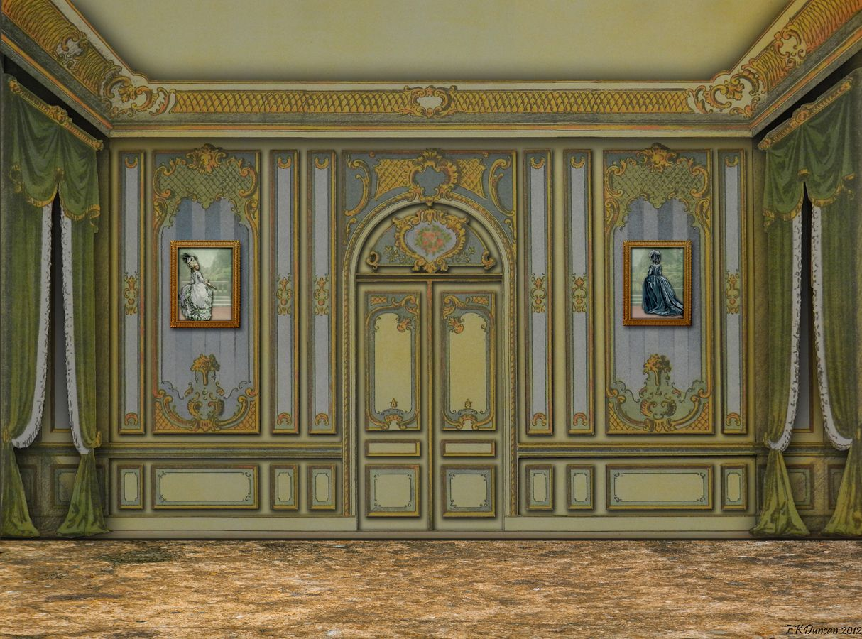Groovy Ekduncan My Fanciful Muse Rococo Style Room And 18Th Best Image Libraries Weasiibadanjobscom