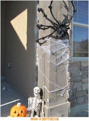diy-scary-halloween-decorations-outside-26 halloween decor