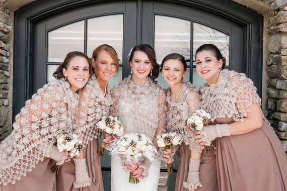 Wedding shawl Bridesmaid shrug Bridesmaid shawl Winter wedding shawl Wedding loincloth Wedding shawls and wraps Pashminas scarf