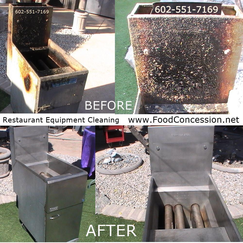Industrial Kitchen Equipment Rental: Pitco Fryer Cleaning 602-551-7169 Commercial Restaurant