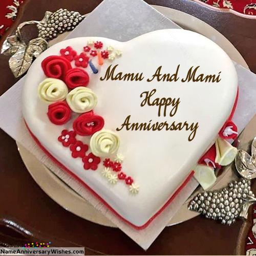 Pin By Neeshu Jindal On Yy Happy Anniversary Cakes Happy