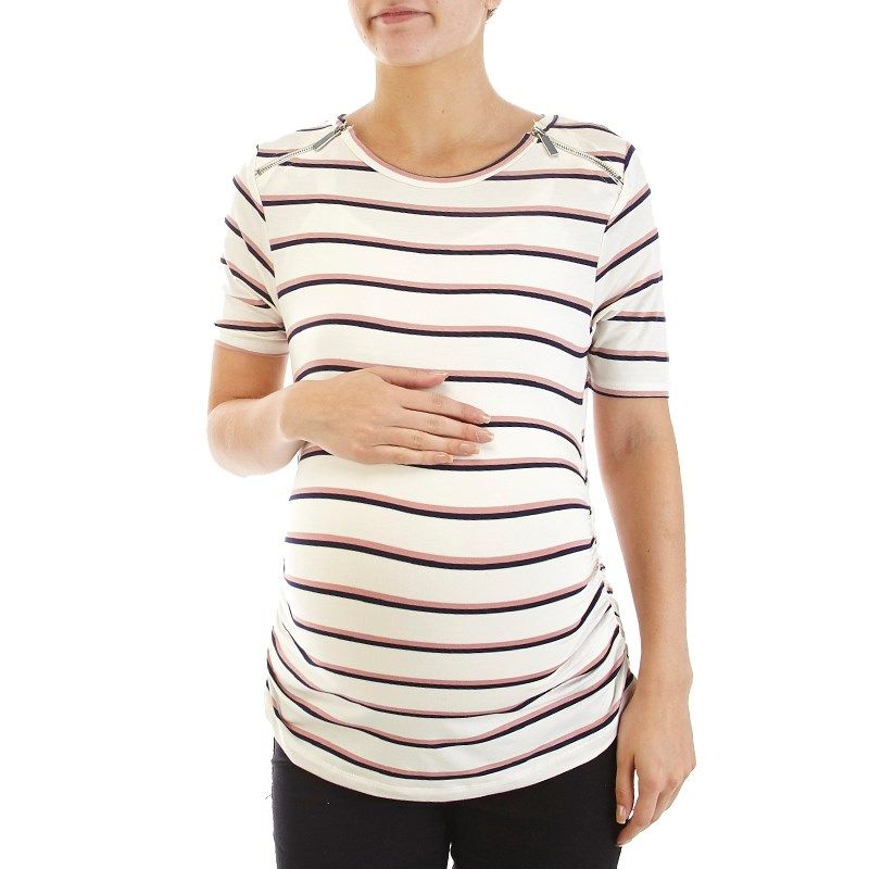 Bring style and comfort to your look with this maternity ...