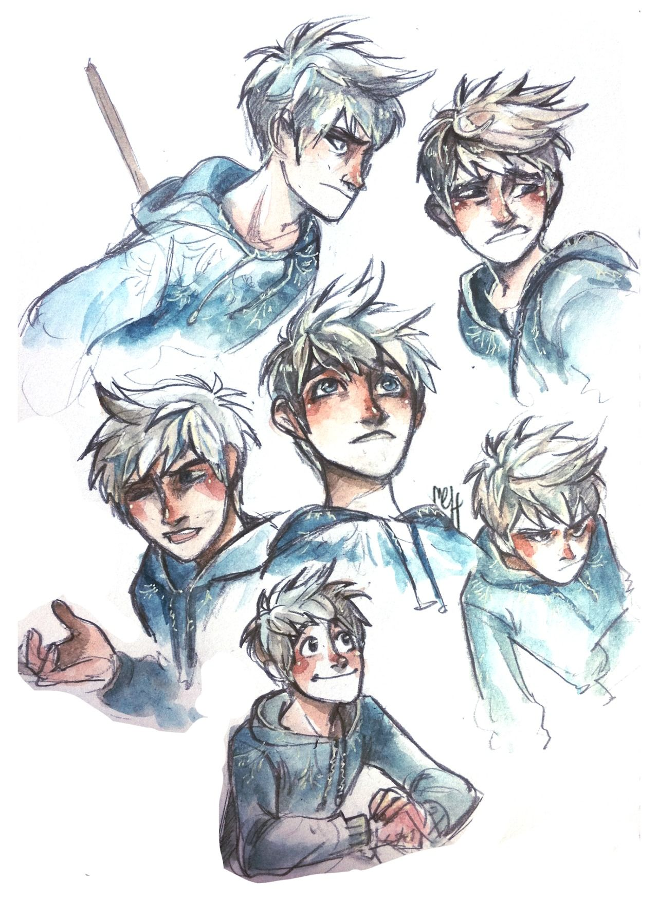 The many faces of Jack Frost . Jack frost