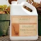 make your own organic fertilizer - can also use soy meal for nitrogen