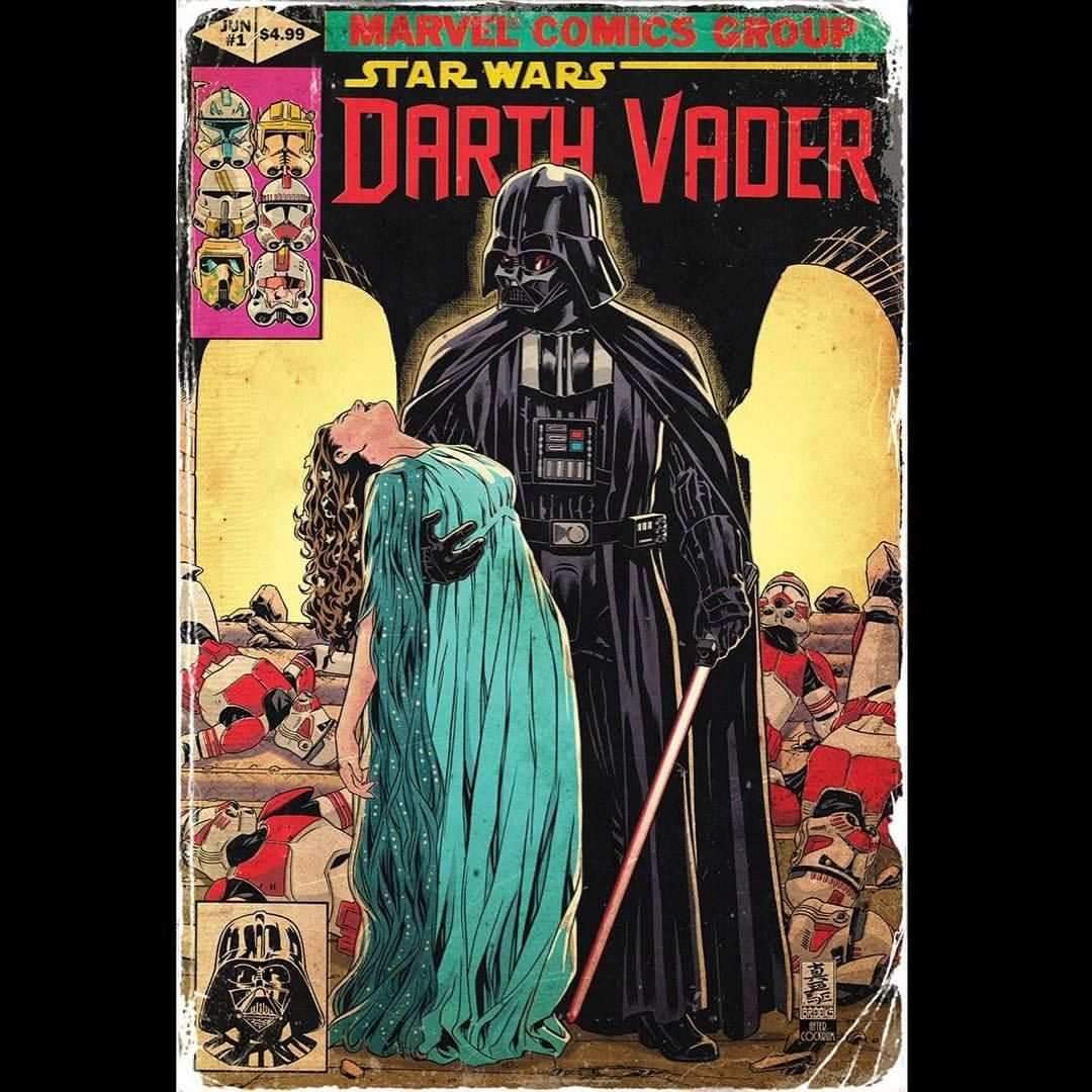 Markbrooksart My Cover For Darth Vader 1 Homaging Dave