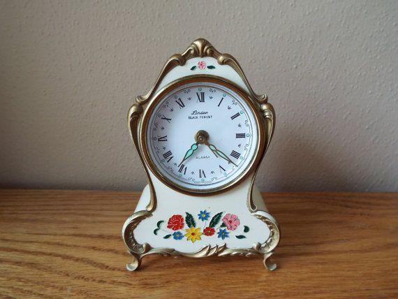 Vintage Linden Black Forest Musical Alarm Clock By Time4clocks