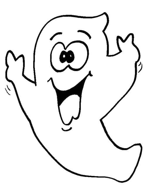 Disegni da stampare  i fantasmi di Halloween - Fantasmino divertente ... e0e5a6622880