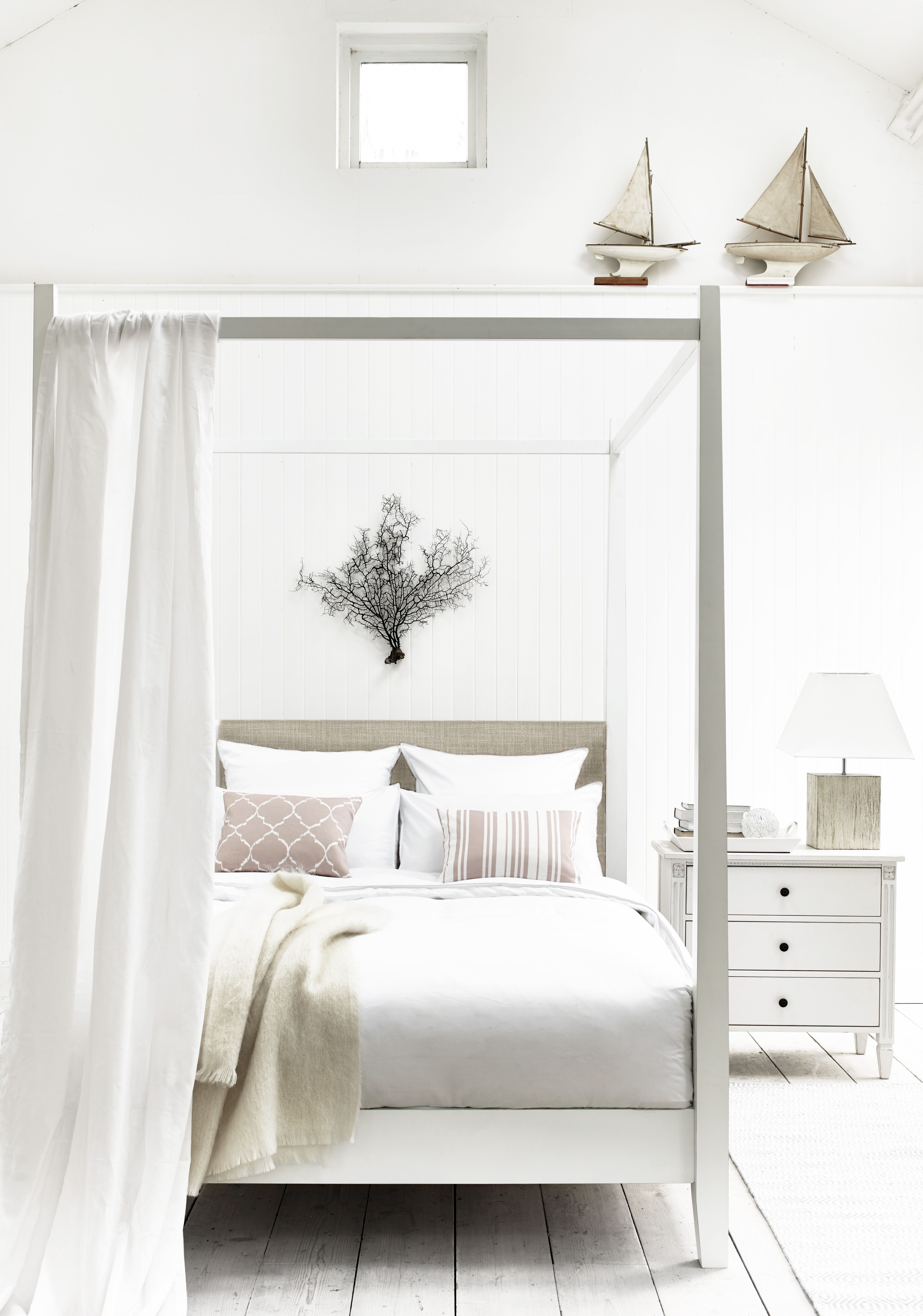 neptune wardley four poster bed painted bedroom furniture