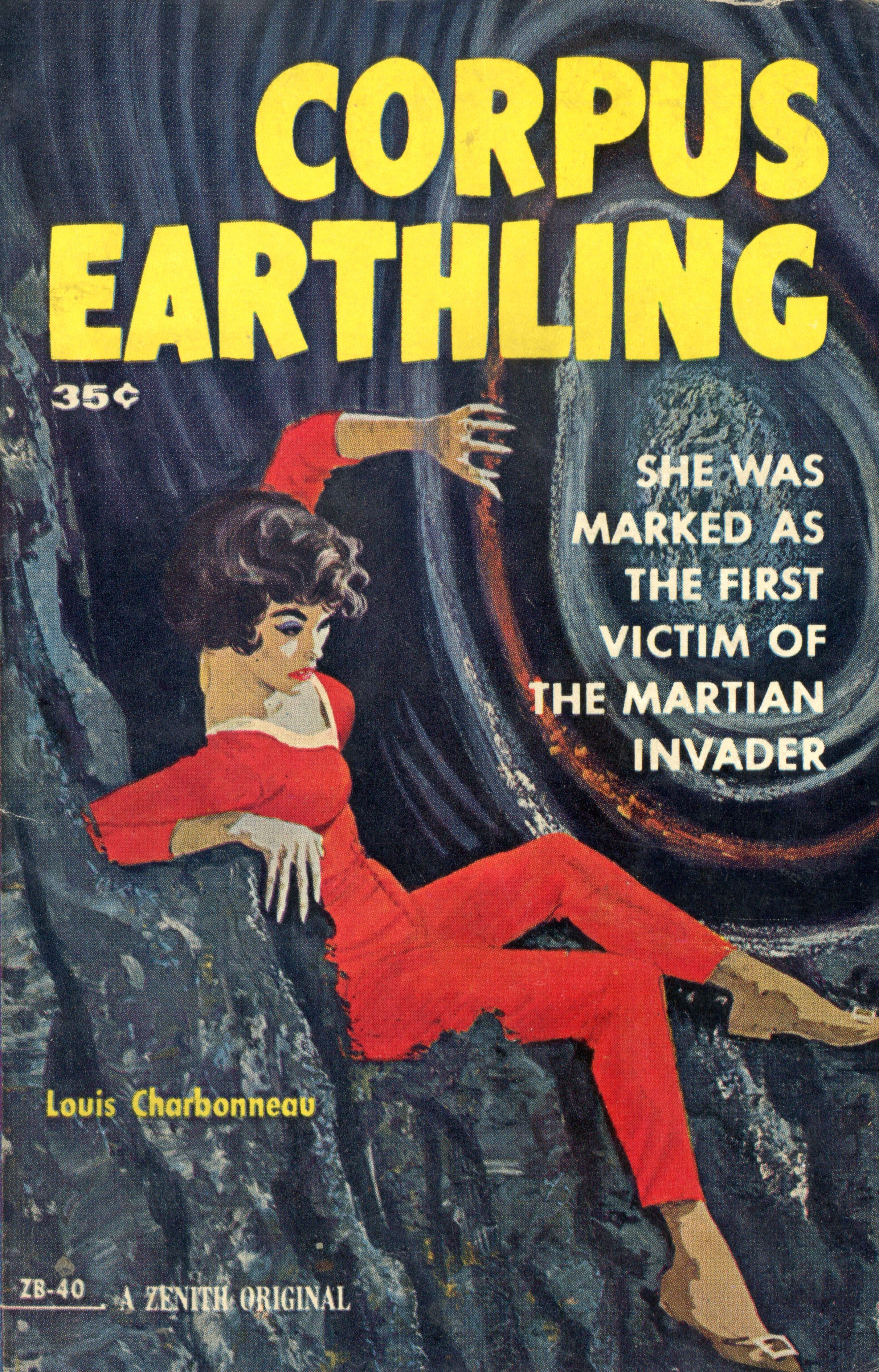 Corpus Earthling Pulp Art Cover