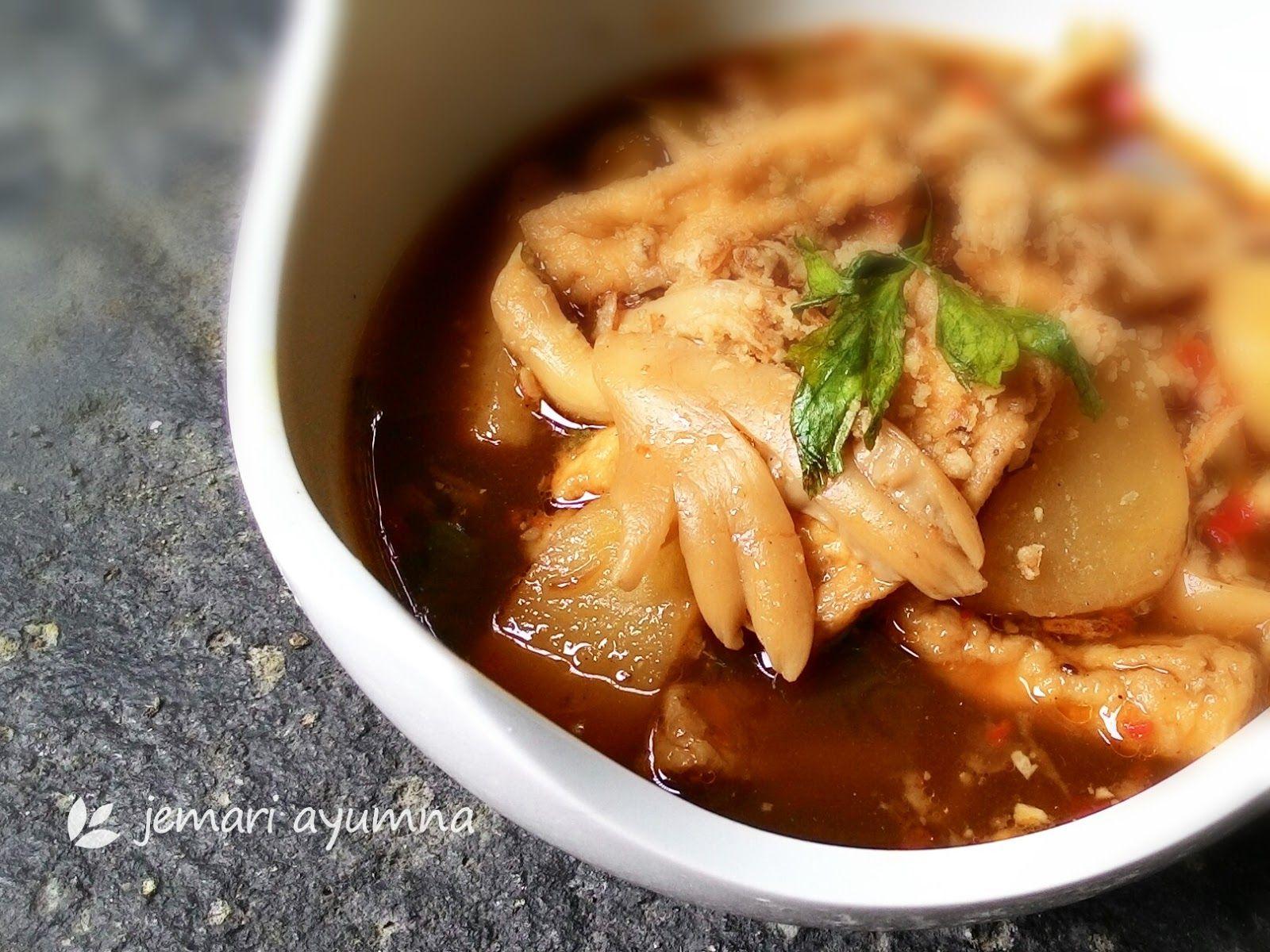 Resep Semur Jamur Tiram Makanan Makanan Dan Minuman Resep