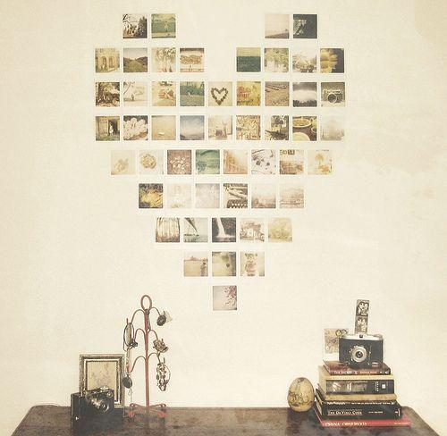 Heart Set On You Diy Wall Art Designs Polaroid