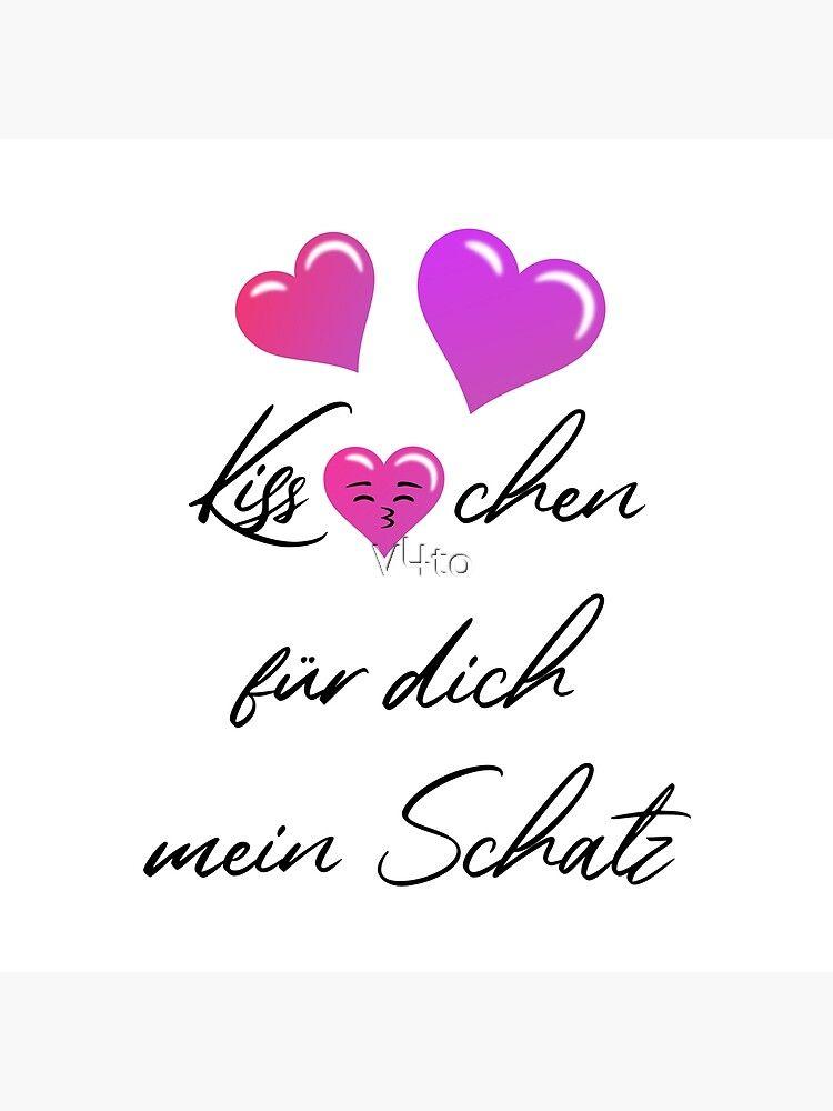 Kiss-chen für dich mein Schatz Valentinstag Herz