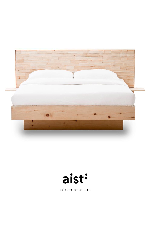 Zirbenbett Mit Spaltholz Zirbenholz Bett Bett Zirben