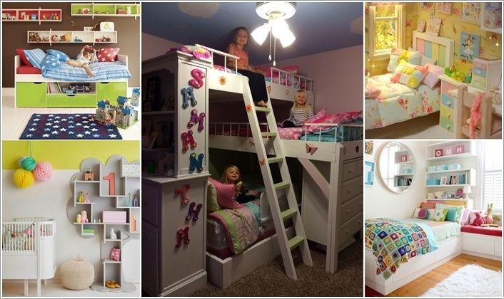15-Cool-Ideas-to-Add-Fun-to-a-Small-Kids\u0027-Room Kid\u0027s Bedroom