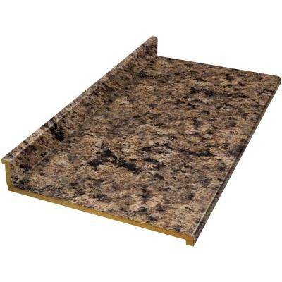 Kitchen Colors Hampton Bay Tempo 10 Ft Laminate Countertop In Milano Brown 472560t10 At The Home