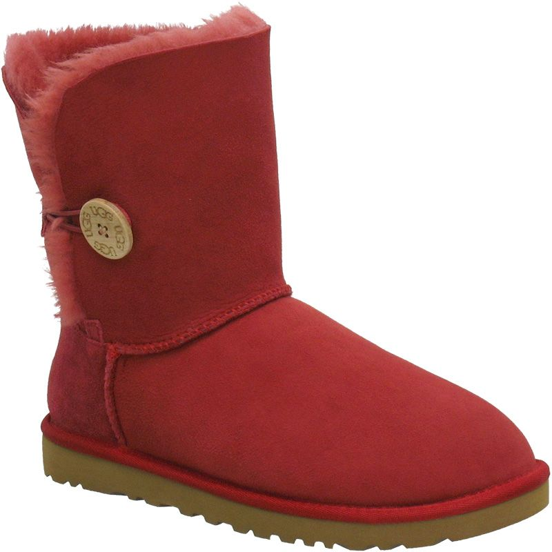 ugg bailey button 5803 boots red me ugg boots uggs boots rh pinterest com