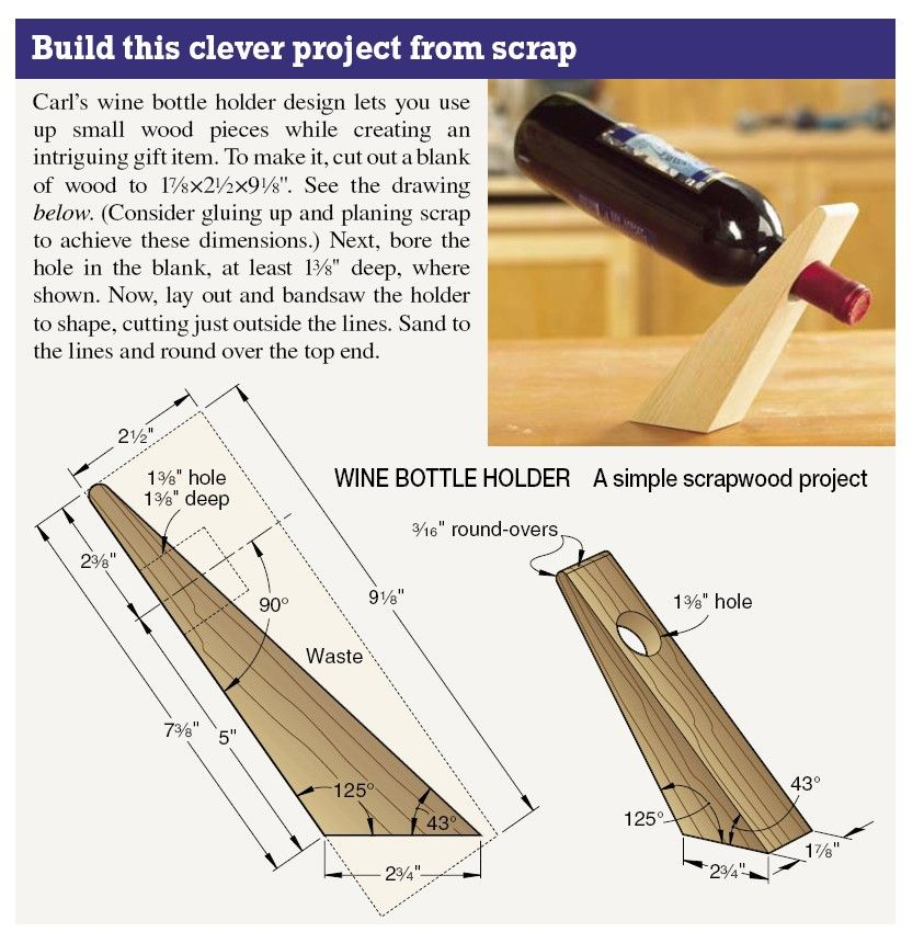 How To Save A Bottle Of Wine With A Damaged Cork Wine Tips At Justwineguide Com Wine Bottle Holders Woodworking Wood Wine Racks