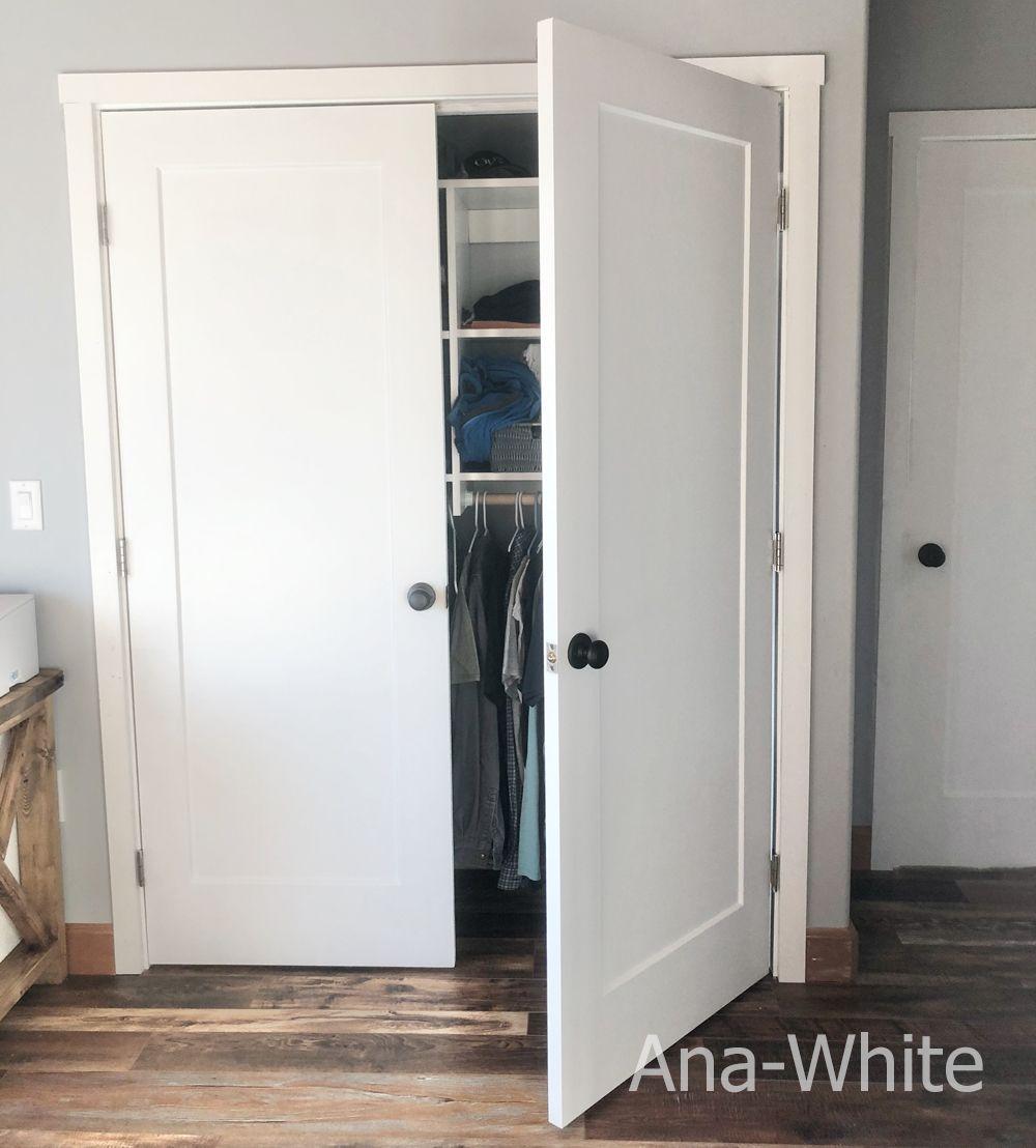 French Closet Doors In 2020 Diy Closet Doors French Closet Doors Closet Door Storage