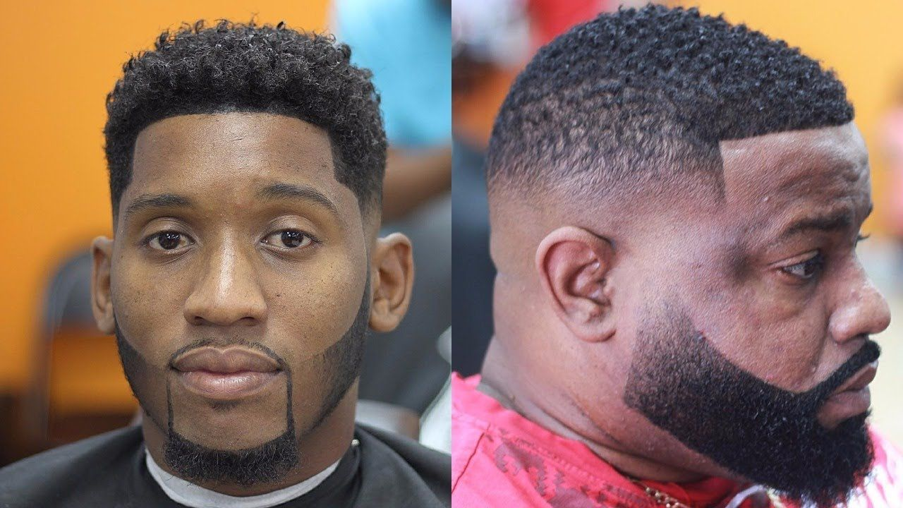 Black men blowout haircut black man haircut and beard  haircut black man  pinterest  black
