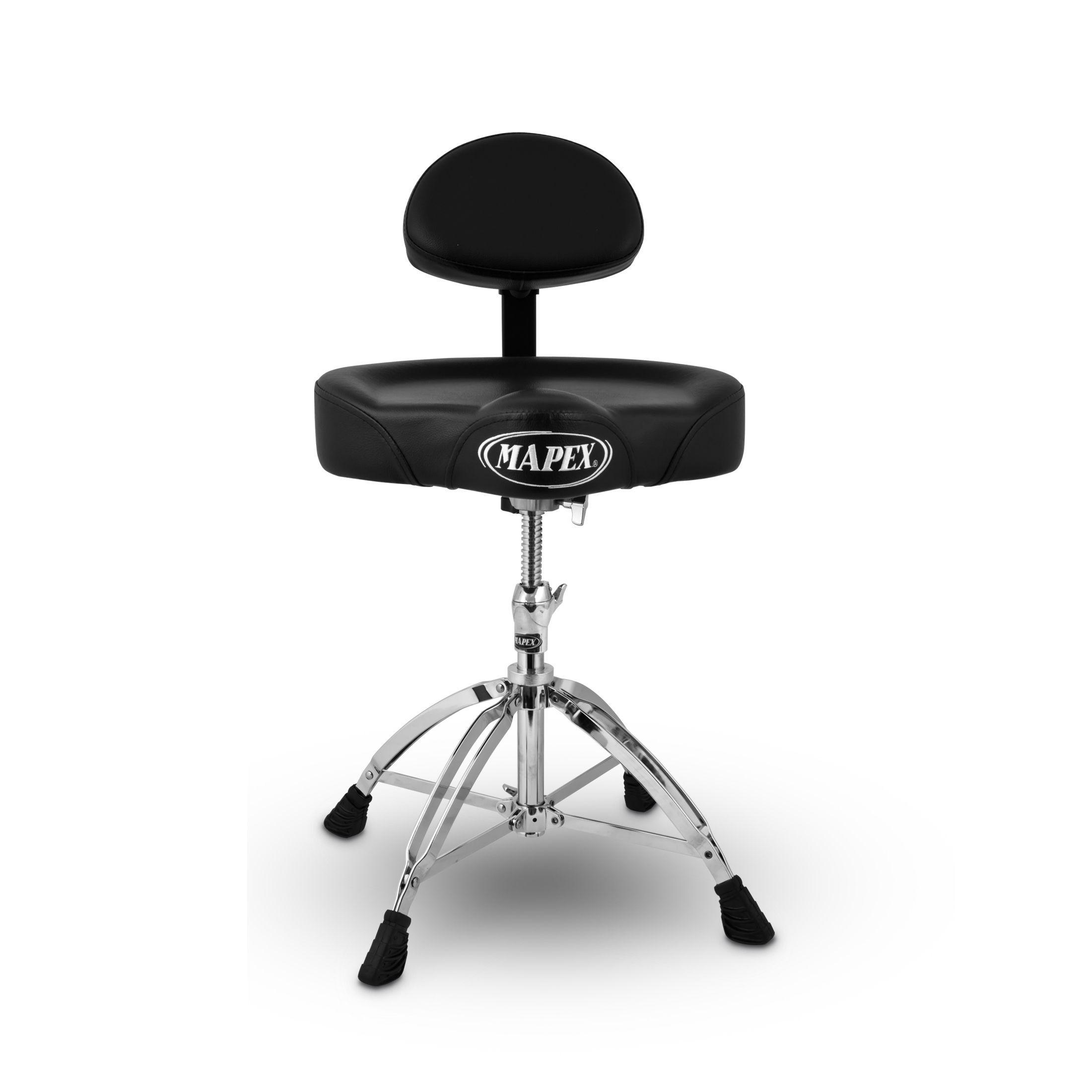 Remarkable Mapex Double Braced Height Adjustable Saddle Seat Back Rest Cjindustries Chair Design For Home Cjindustriesco