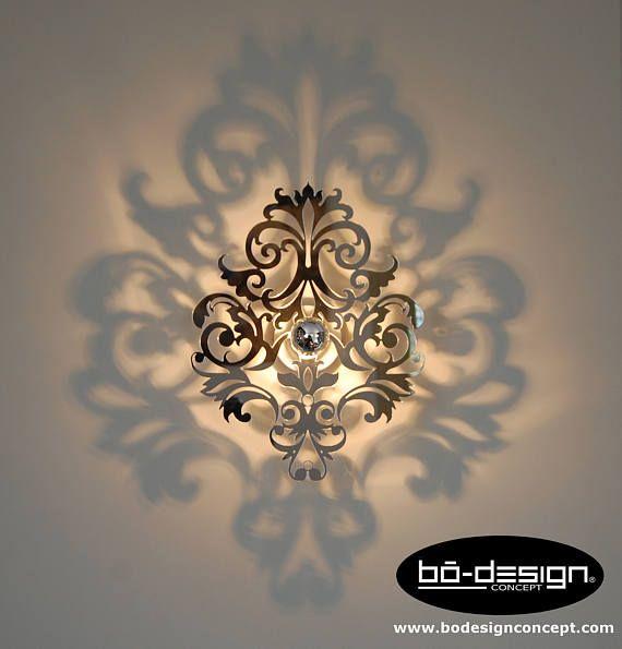 Applique murale baroque,luminaire baroque,modele barocco 30 ou 35 cm ...
