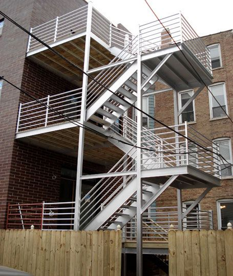 Best Custom Stair Fabrication Installation For Commercial 400 x 300