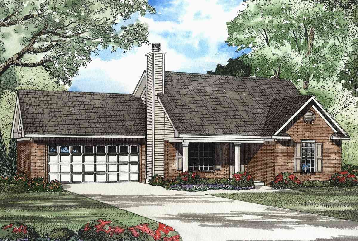 Plan 59232ND: Stately Home Design