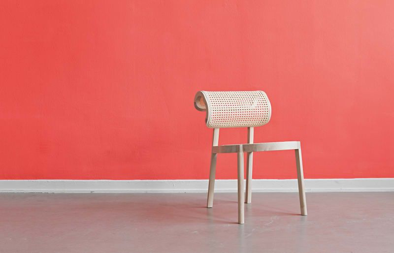 Mobelneuheiten Geflochten Und Gewoben Stuhle Design Sitzmoglichkeiten