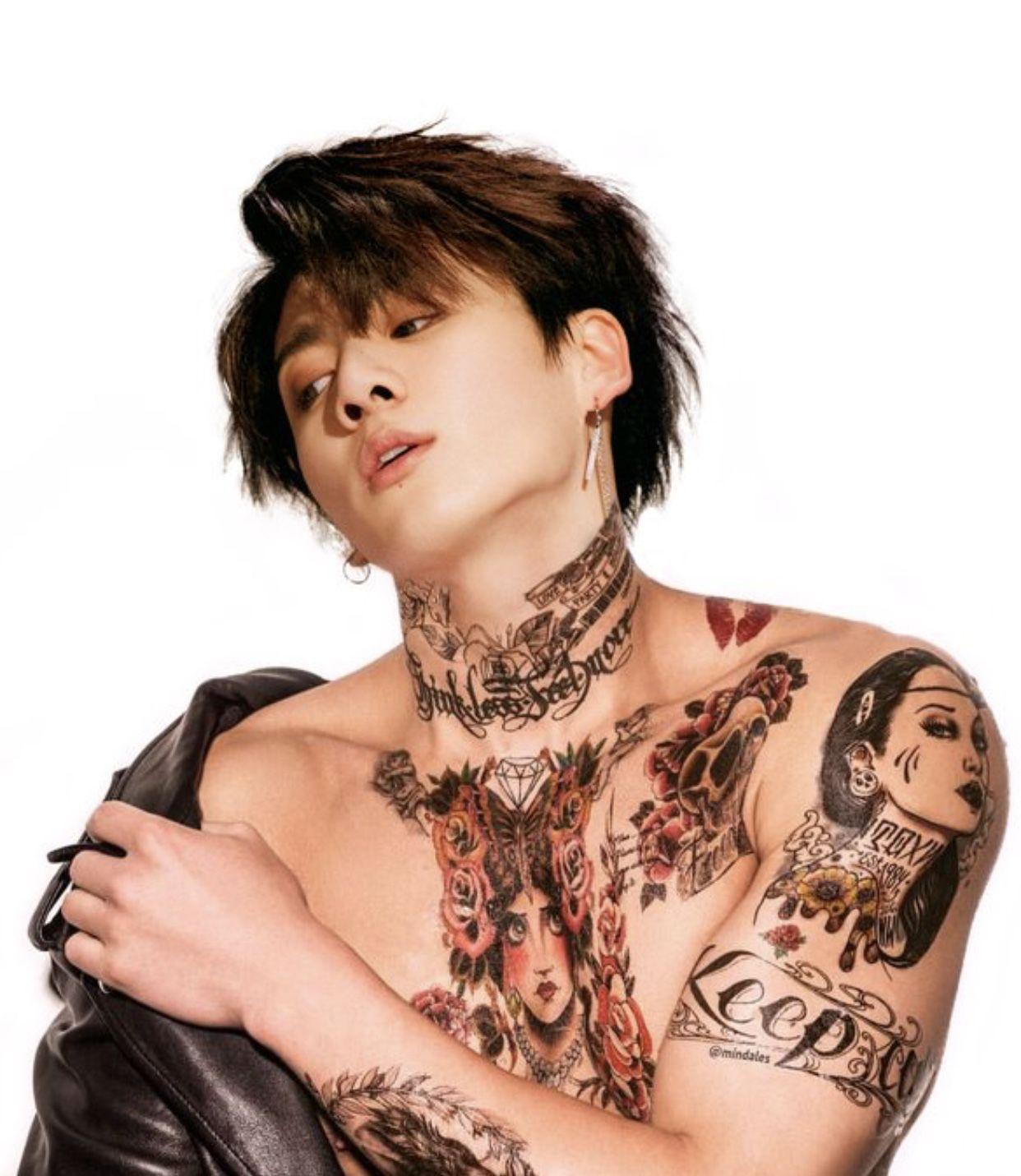 Fate Vminkook Korean Boys Ulzzang Bts Jungkook Bts Tattoos