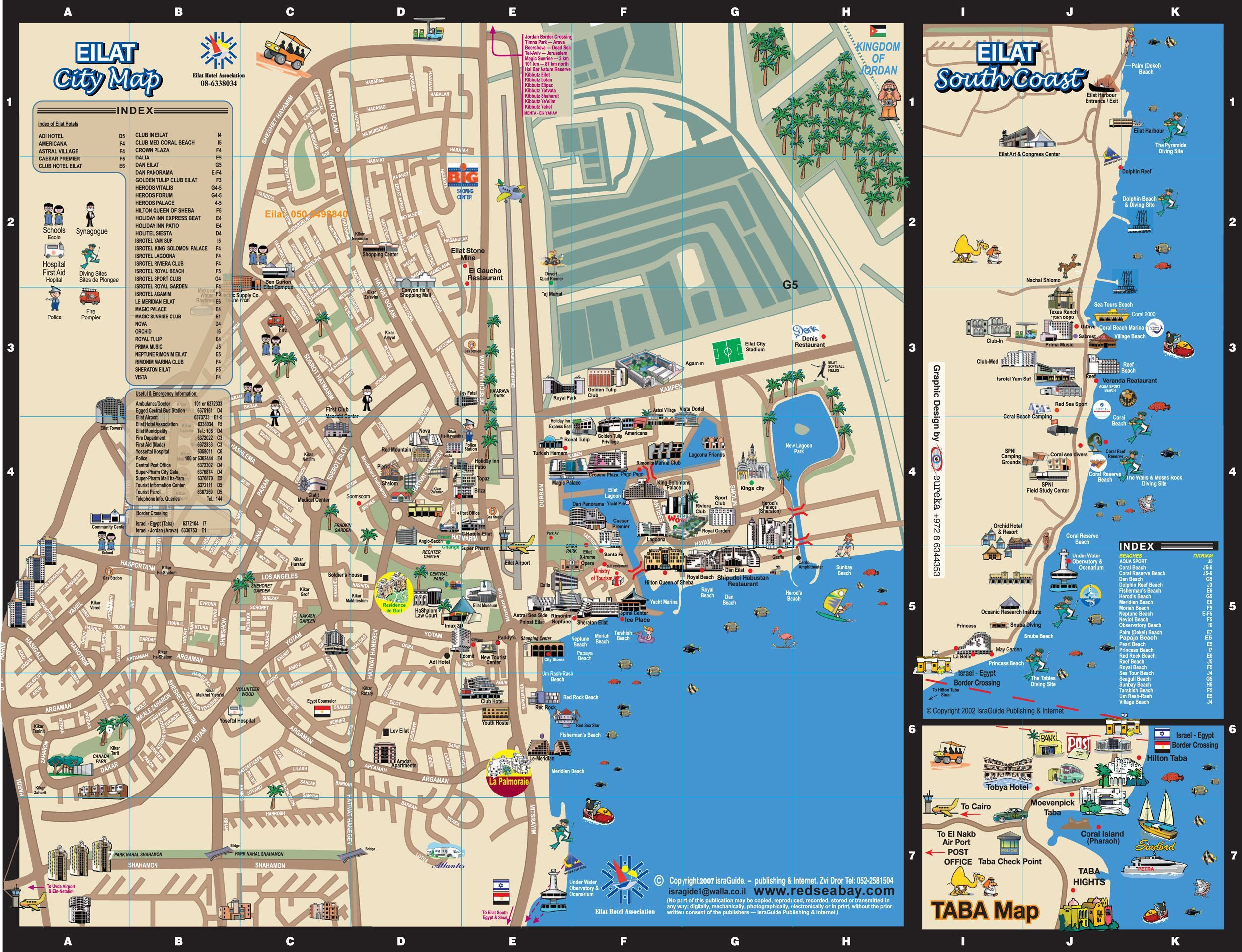 Maps for Eilat | Touring Guides in Israel | Pinterest | Eilat and Israel