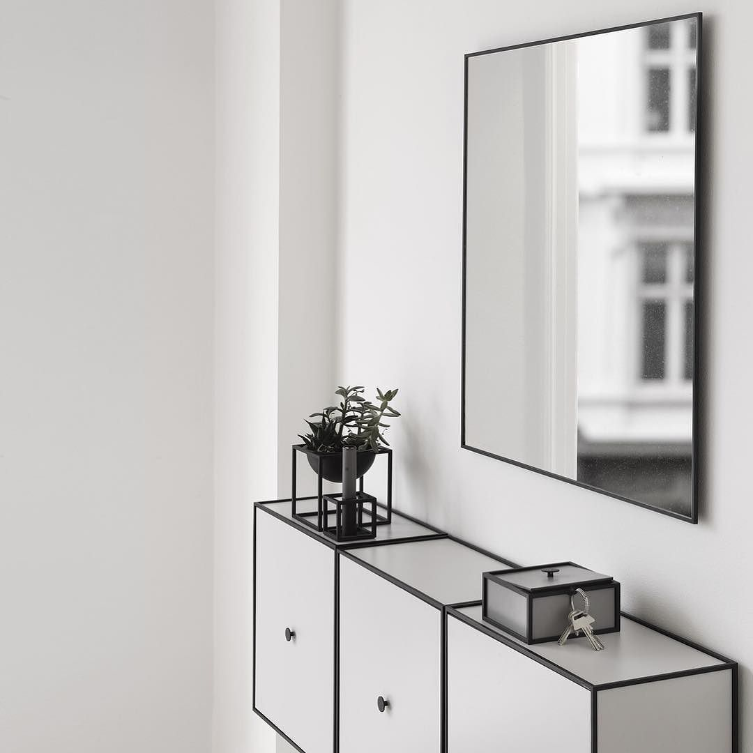 Frame sideboards in light grey making the perfect sideboard