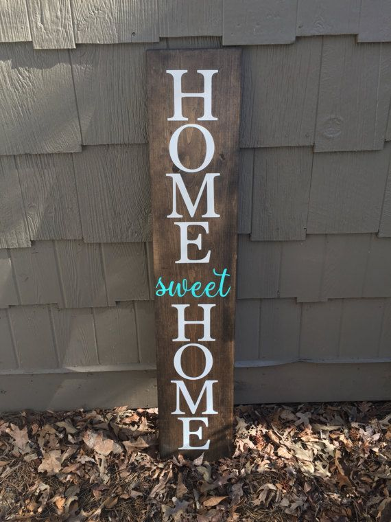 Large Front Porch Sign Home Sweet Home Sign Welcome Sign Porch Sign Home Sweet Home Outdoor Sign Front Porch Welcome Sign Fall Signs Porch Signs Front Porch Signs Porch Welcome Sign