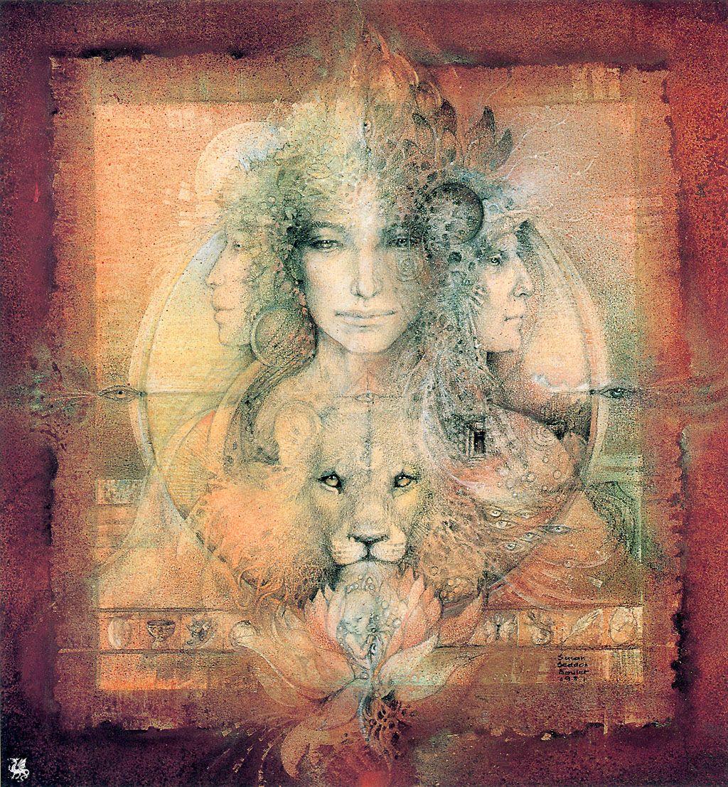 """Triple Goddess"" par Susan Seddon Boulet"