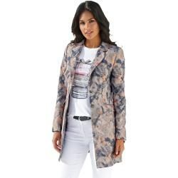 Amy Vermont, long print blazer, multicolor Amy Vermont#amy #blazer #long #multicolor #print #vermont