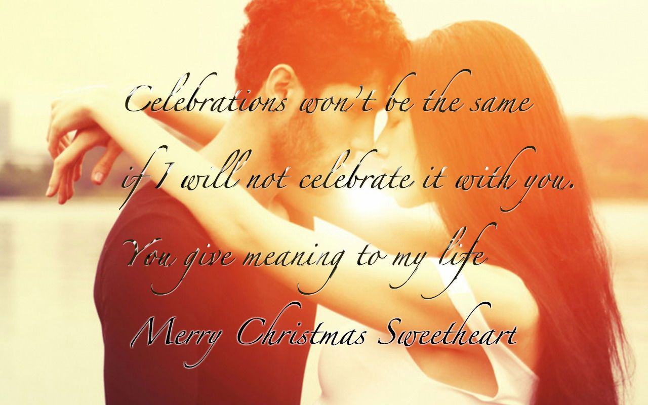 Romantic Christmas Wishing Greeting Cards for Boyfriend