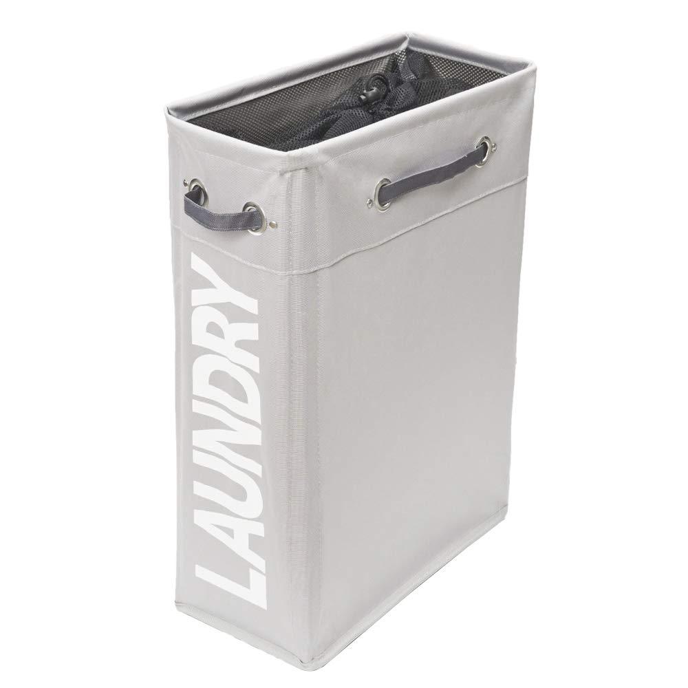 Amazon Com Comfortez Slim Laundry Hamper Foldable Laundry Basket
